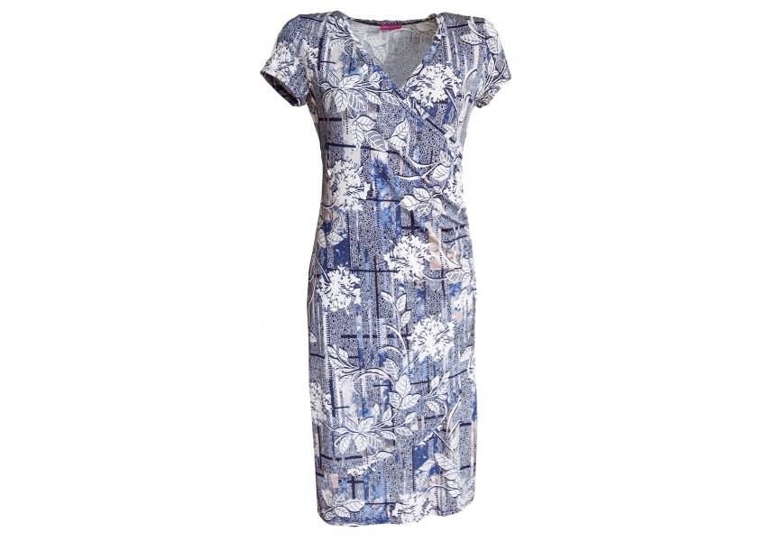 Letní elegantní šaty s překřížením
