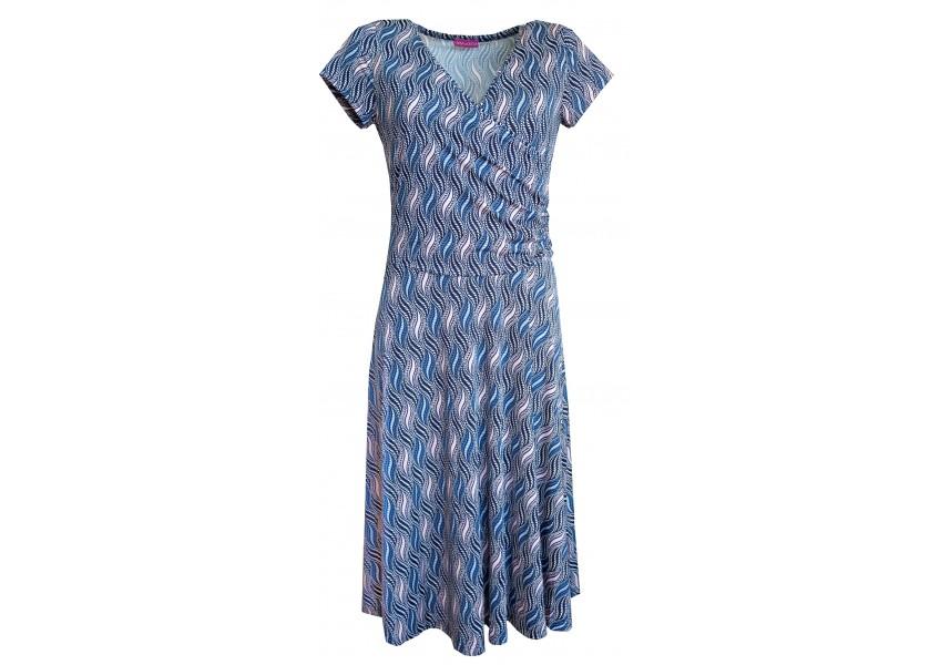 Letní šaty se širokou sukní