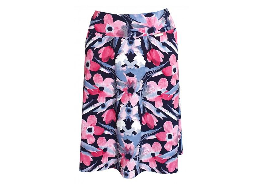 Letní sukně s květy