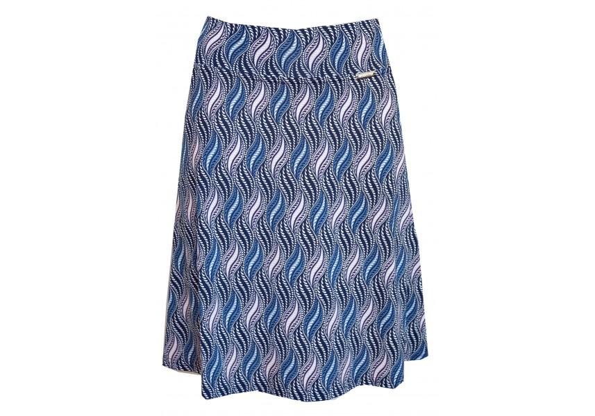 Letní krátká modro růžová sukně