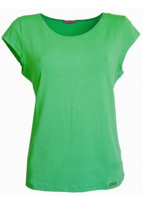 Zelený top s krátkým rukávkem