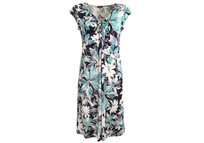 Letní delší šaty s květy