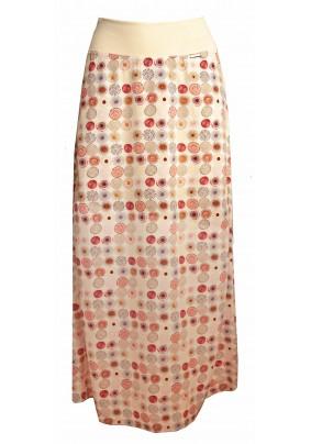 Letní dlouhá světlá sukně