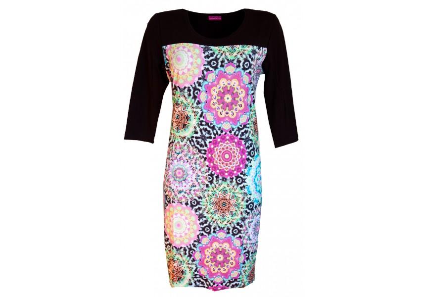Barevné podzimní šaty