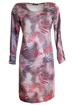 Teplé úzké šaty