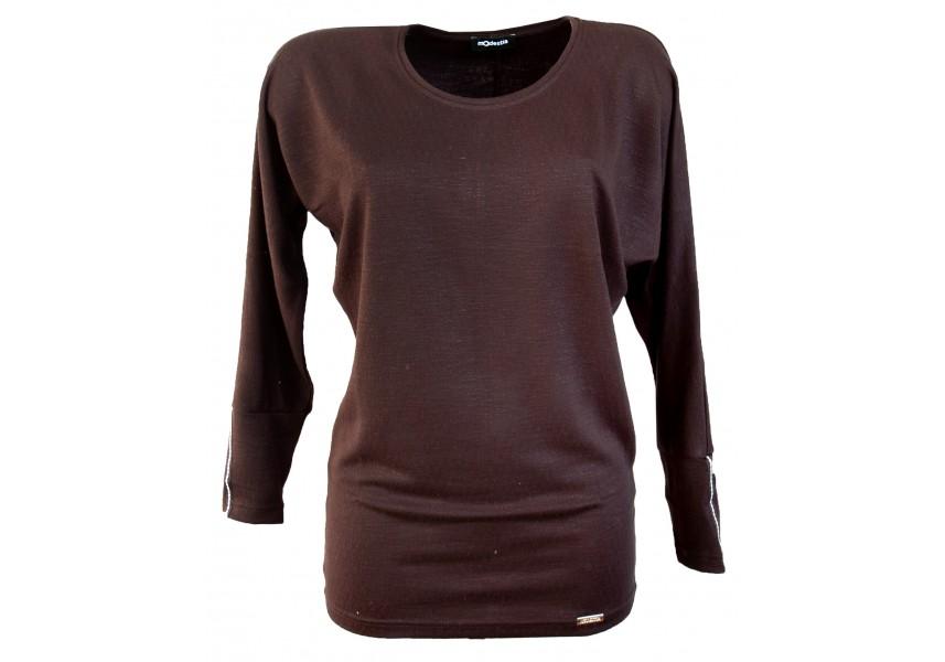 Černý elegantní svetr