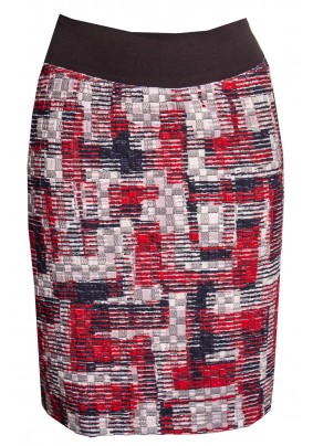 Teplejší barevná sukně