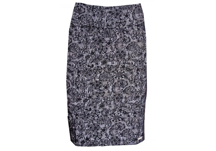 Elastická sukně na jaro