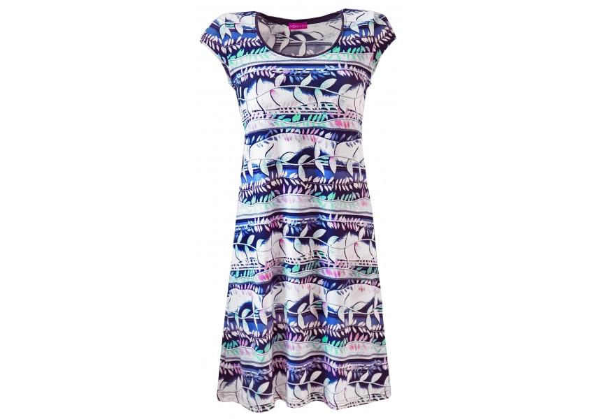 Letní barevné šaty