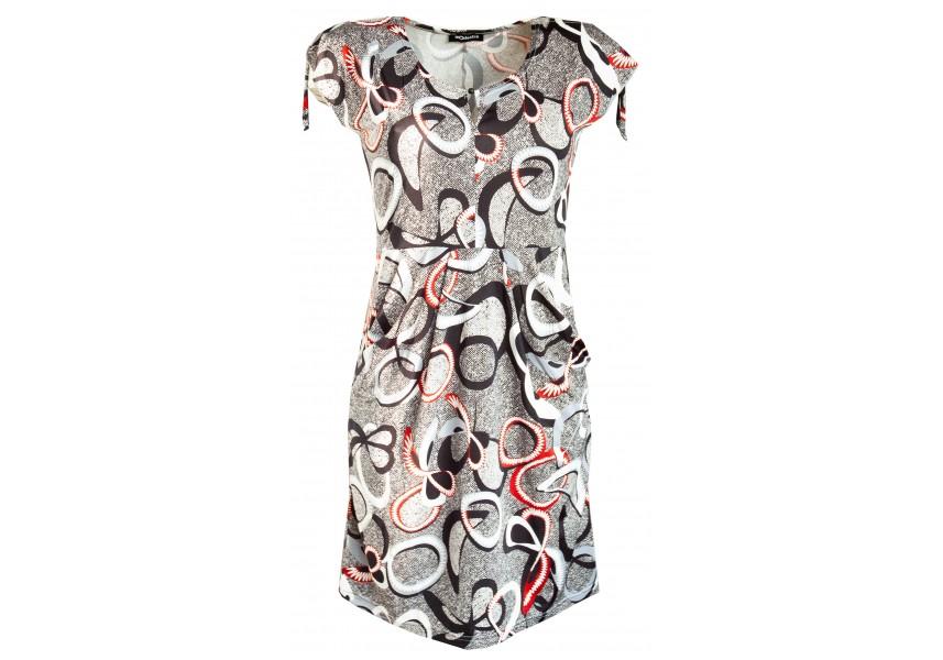 Letní šaty s kapsami