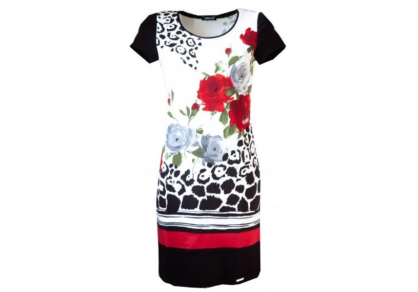 Elegantní šaty s tiskem
