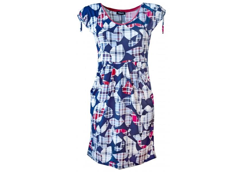 Kapsové letní šaty