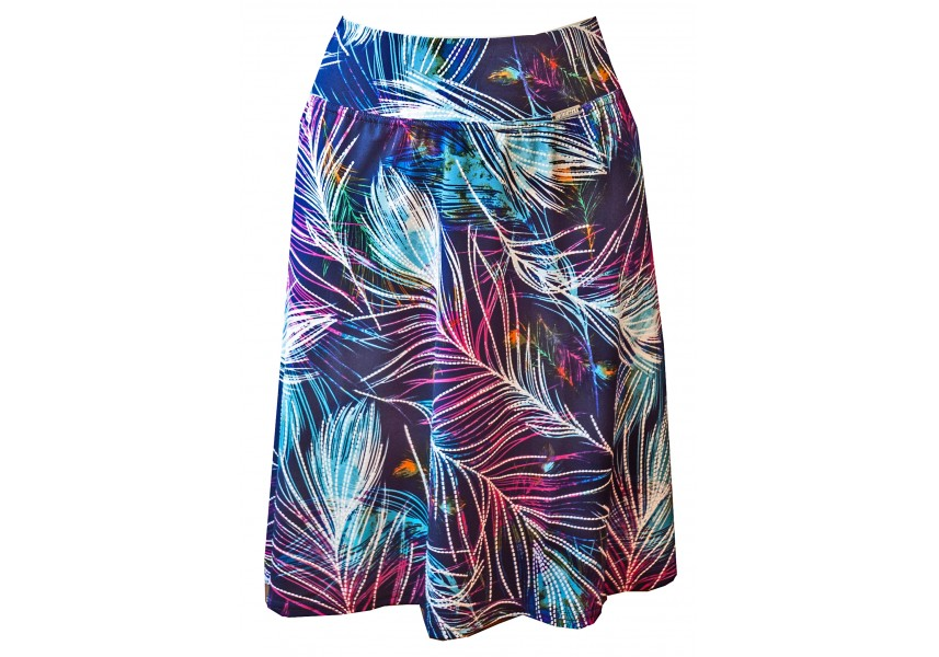 Barevná krátká sukně