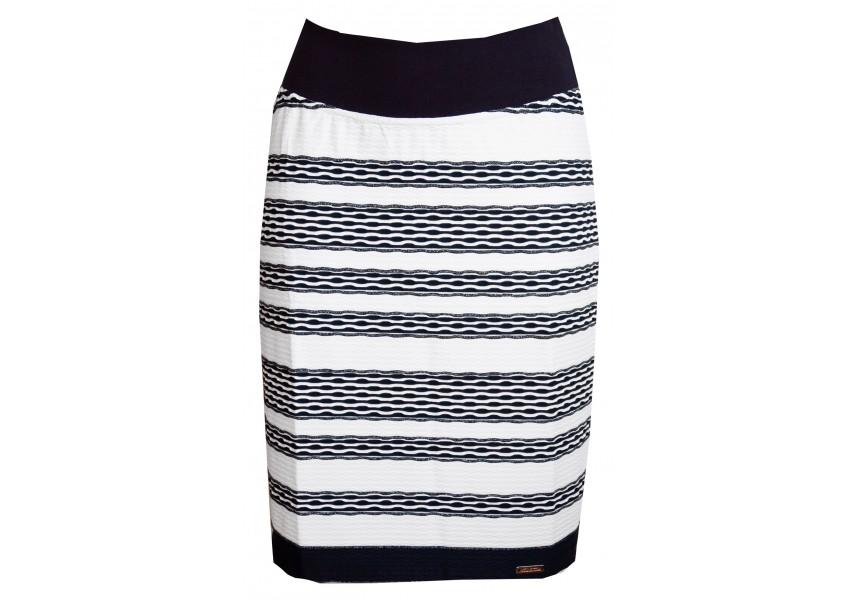 Letní pruhovaná sukně