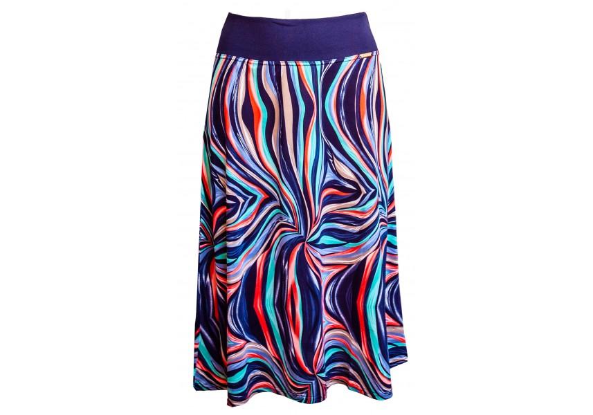 Delší letní sukně