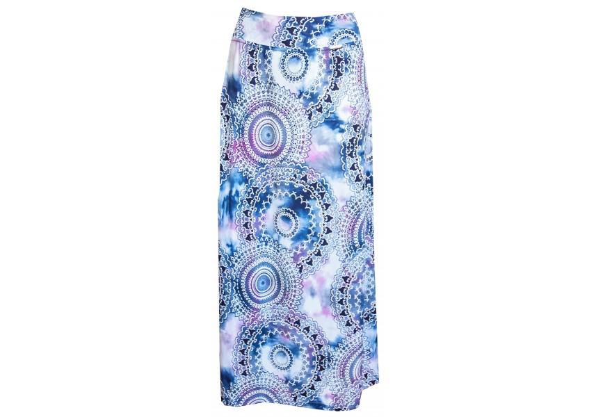 Dlouhá letní sukně s koly