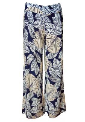 Letní dlouhé elegantní kalhoty