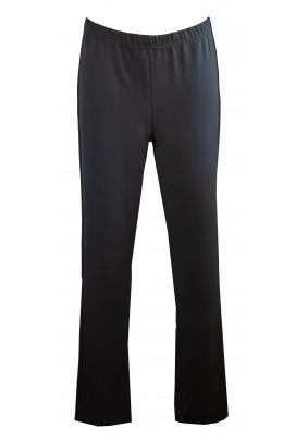 Černé elastické kalhoty