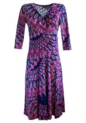 Elegantní šaty se širokou sukní