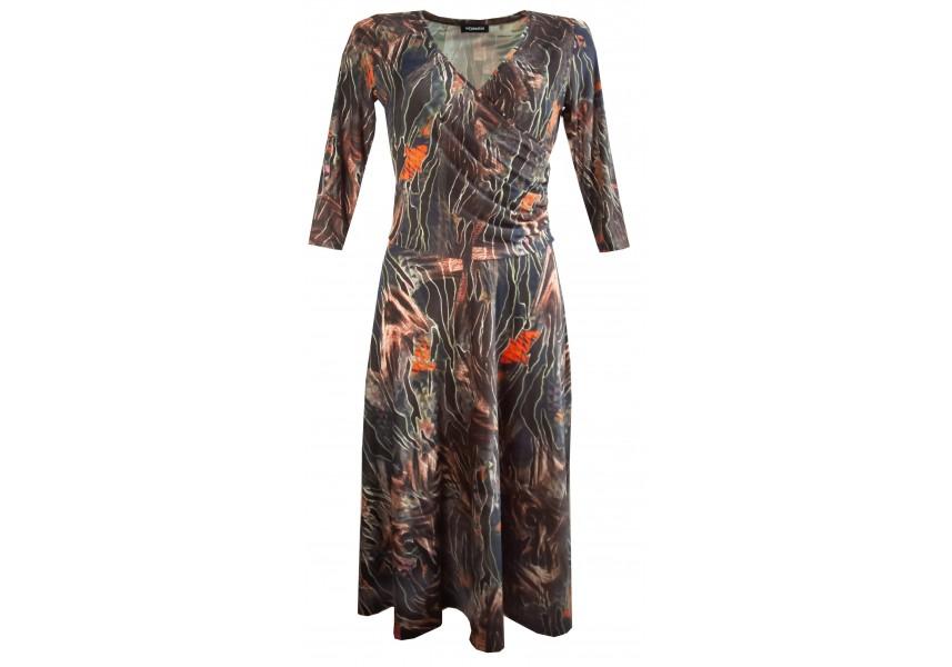 Delší šaty se širokou sukní