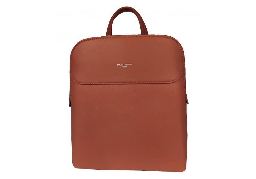 Elegantní zlatohnědý batoh