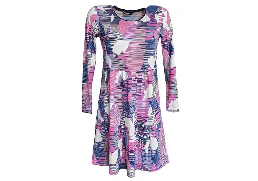 Volné kanýrové šaty z úpletu