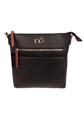Černá kabelka se zipem