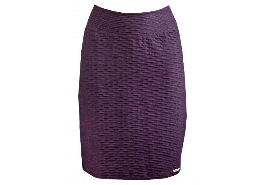 Tmavě vínovo fialová sukně