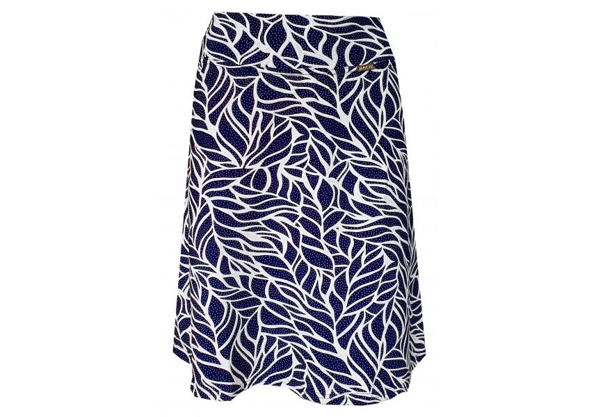 Modro bílá krátká sukně