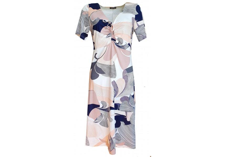 Jarní světlé šaty