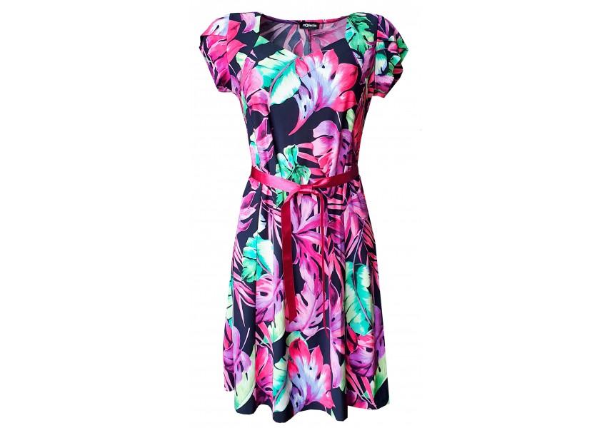 Šaty s dílovou sukní