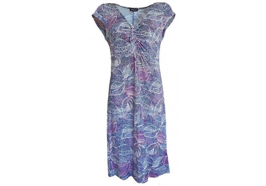 Barevné šaty se sukní do A