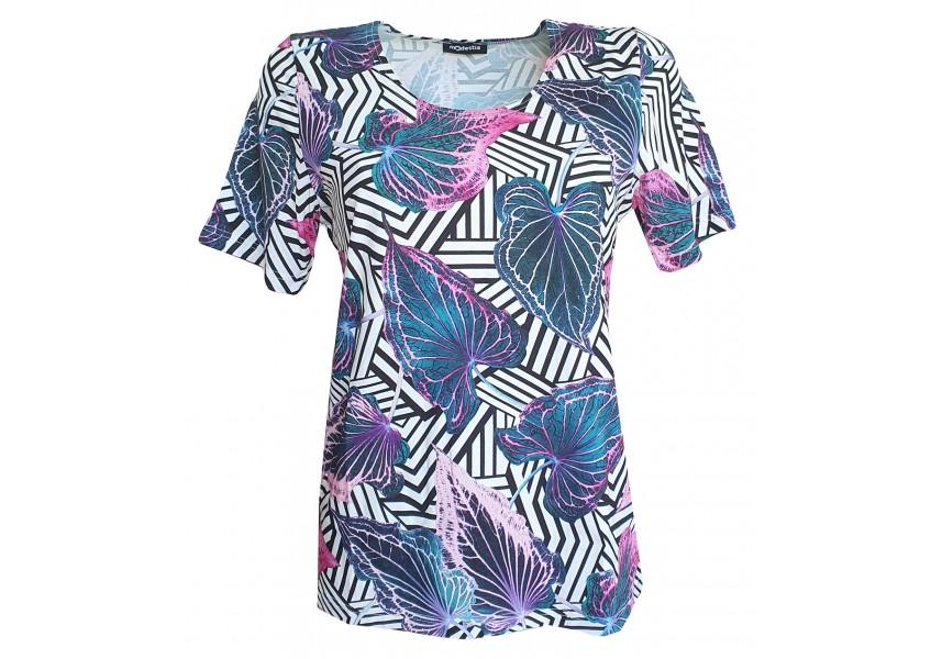 Klasické triko s barevným tiskem